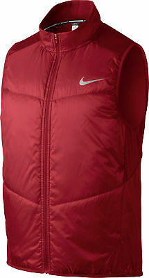 Nike Polyfill Mens Running Gilet - Red