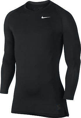 Nike Pro Cool Mens Compression Long Sleeve Top - Black