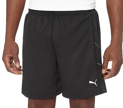 Puma 7 Inch Mens Running Shorts - Black