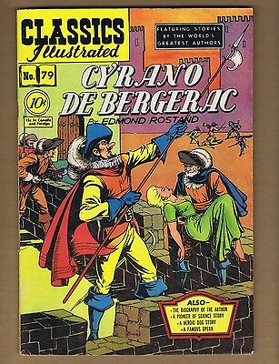 Classics Illustrated 79 (VG) HRN 78 (O) Cyrano de Bergerac (c#06204)