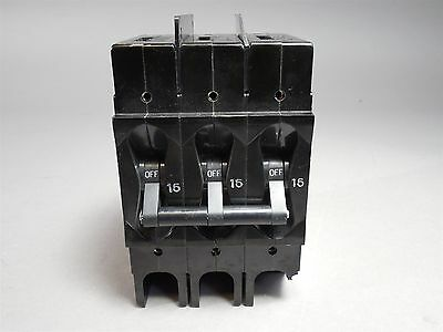 Airpax 15A 3-Pole Circuit Breaker - USED