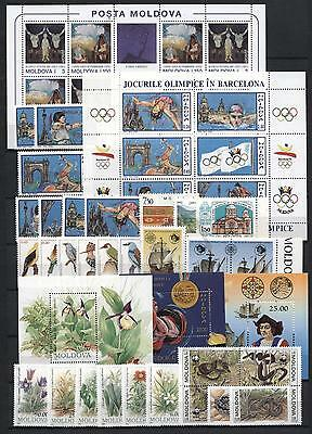 (927911) Olympics, Birds, WWF, Columbus, Small lot, Miscellaneous, Moldavia