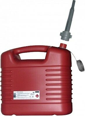 Canister Jerry can Fuel canister 20l red Plastic Spare jcanister
