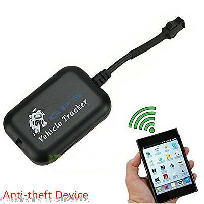 Black Car Realtime GPS/GPRS/GSM Location Tracker Tracking Device Anti-Theft Kit