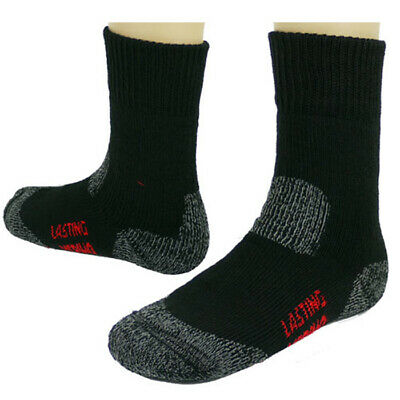 LASTING Trekkingsocken TXC 42-45 Wolle Wander Socken Winter Merinowolle TOP