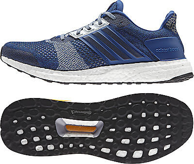 Adidas Ultra Boost ST Mens Running Shoes - Blue