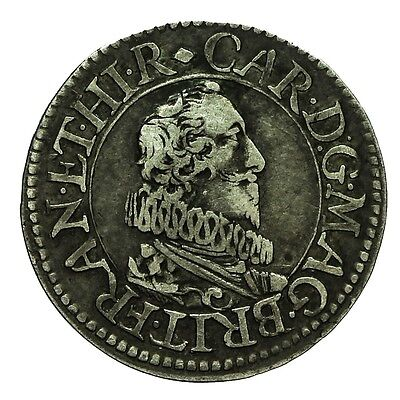 Charles I Pattern Silver Halfgroat  S2856A