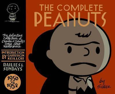 The Complete Peanuts 1950-1952 by Charles M. Schulz (English) Hardcover Book Fre