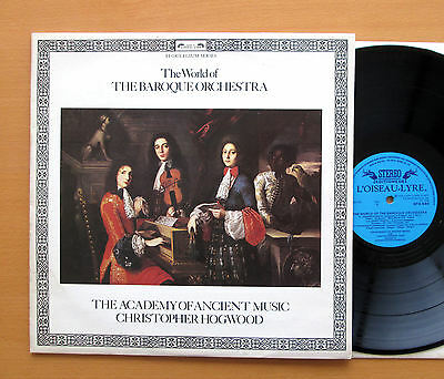 SPA 544 The World Of The Baroque Orchestra Christopher Hogwood NM/VG Stereo