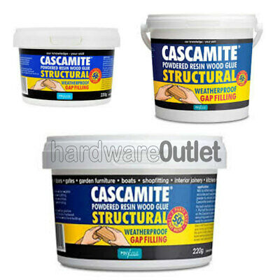 CASCAMITE Wood Glue Structural Powdered Resin Adhesive Woodwork  Boats Furniture