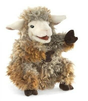 Folkmanis Woolly Lamb Hand Puppet