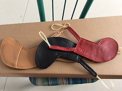 Nice quality 4/4 violin chin rest pad leather skin made