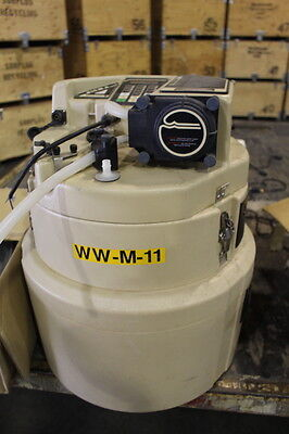 American Sigma Model 1350 Portable Wastewater Tester Autosampler