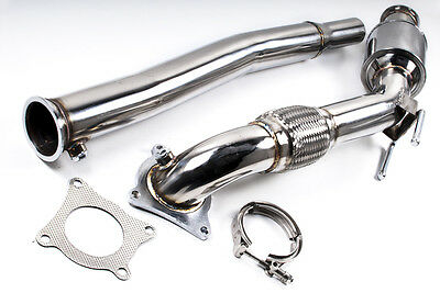 200Cpi Sports Cat Stainless Steel Exhaust Downpipe For Vw Golf Mk6 Gti 2.0 Turbo