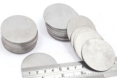 47mm Dia Mild Steel Blank Round Discs Clearance Bargain Old Stock Bargain Price