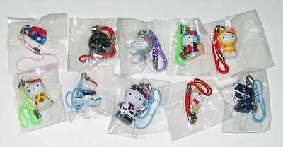 SANRIO HELLO KITTY LOT OF 10 CHARMS RANDOM ASSORTMENT NEW SEE PIC #sw-952