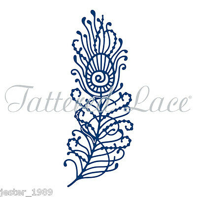 Tattered Lace - PFAUENFEDER D1291 - Stephanie Weightman