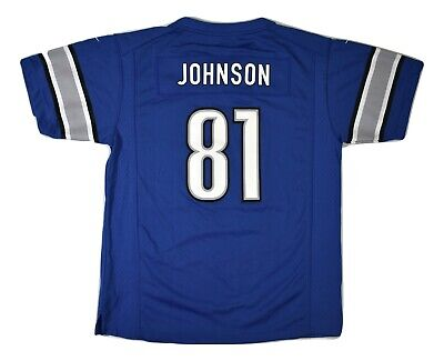 Nike NFL Youth Detroit Lions Calvin Johnson Jersey NWT $75 XL
