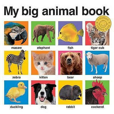 NEW My Big Animal Book By Priddy Books Board Book Free Shipping
