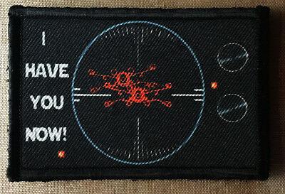 """Star Wars """"I Have You Now""""  Morale Patch Tactical Military Army Badge Hook Flag"""