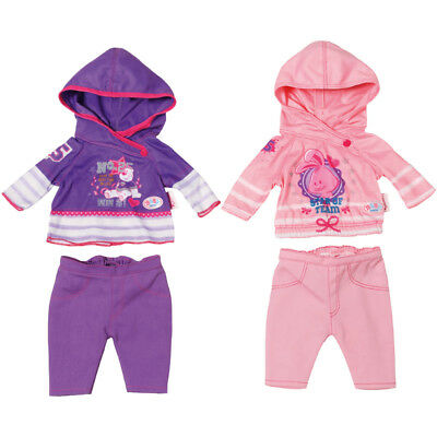 Baby Born Casual Outfit Choice of Colours One Supplied NEW
