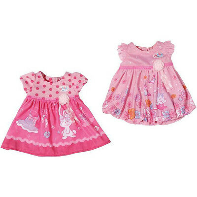 Baby Born Dress Choice of Colours One Supplied NEW