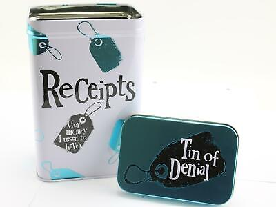 The Bright Side Receipts Tin For Money I Used To Have