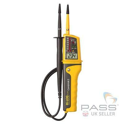 NEW DiLog  DL6790 CombiVolt 2 Voltage Continuity Tester with Built-in Torch