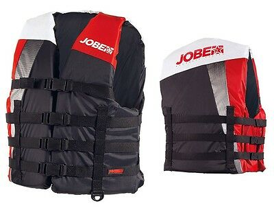 Jobe Progress Dual Nylon Vest red Lifejacket Bootsweste Waterski j16