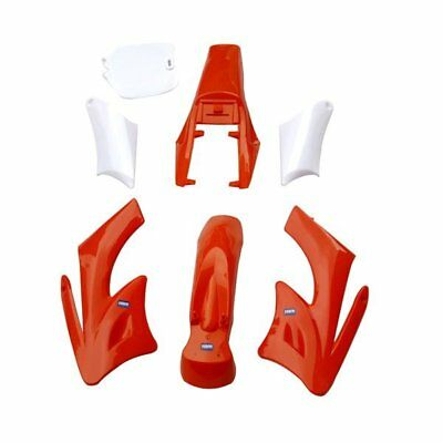 HMParts - 2 Takt Mini Cross KXD Orion Verkleidungs SET - ORANGE