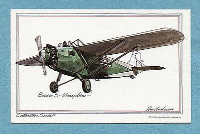 A0781  Postcard  Andersen  Breese 5-Monoplane-  Collectors Series