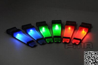 New FMA Helmet Safety LED Flash Lite Light for Diving Outdoor Bike Sport Cycling