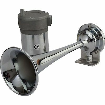 "Boat Marine Maxblast Air Horn Mini Single Trumpet 9-5/8"" 12 Volt PSI 9-11"
