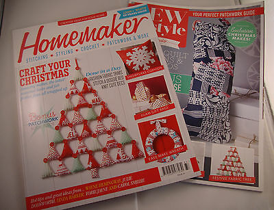 HOMEMAKER Magazine Issue 37 November 2015 Patchwork Book Craft Baking Sewing