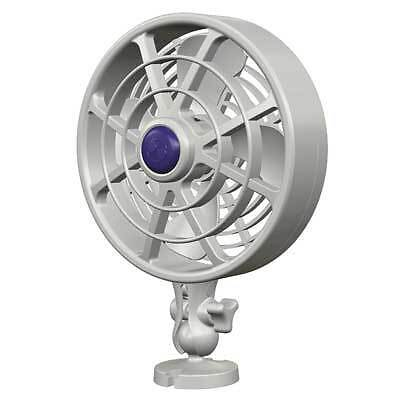 """Boat Marine RV Fan 6"""" Camano Single Speed Touch Control Direct Wire"""