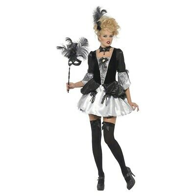 Masquerade Costume Adult Womens Marie Antoinette Outfit Halloween Fancy Dress