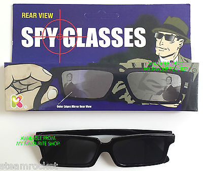 REAR VIEW SPY GLASSES See Behind You with Eyes In The Back Of Your Head