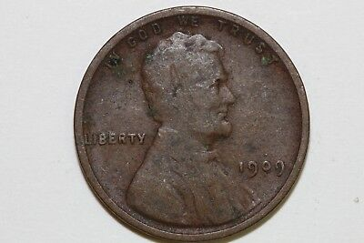 Up for Sale One Very Nice 1909-P VDB Lincoln Cent Grading Fine (Stock #: LPX814)