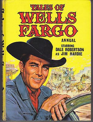 Tales of Wells Fargo Annual World Distributors 1962 Dale Robertson Jim Hardie