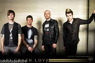 AFI A Fire Inside Group Photo Cloth Fabric Poster Flag Textile Tapestry Banner