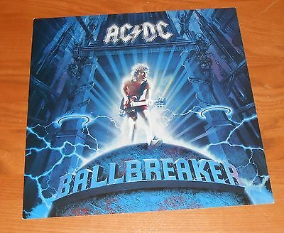 AC/DC Ballbreaker 2-Sided Flat Square Promo 1995 Poster 12x12