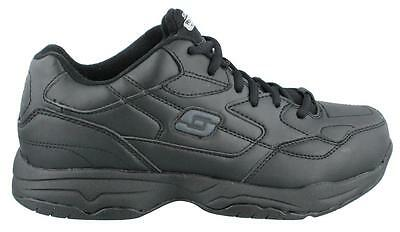 Skechers Felton Slip Resist Wide  Sneakers Mens Work And Uniform Shoes