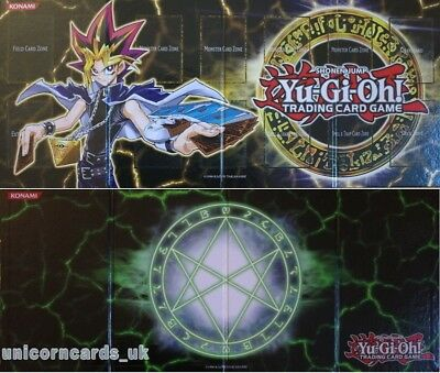 Double-Sided Foldable Hard Game Board From Legendary Collection 3: Yugi's World