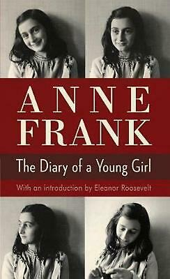 The Diary of a Young Girl by Anne Frank (English) Mass Market Paperback Book Fre