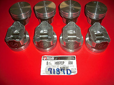 8 NEW H997CP .030 SEALED POWER HYPEREUTECTIC Pistons 304 345 V8 INTERNATIONAL
