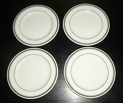 "(4) Wood & Sons Restaurant Ware SHERWOOD  6 1/2"" Bread/Dessert Plates"