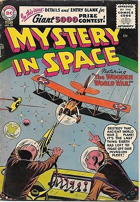 Mystery In Space Comic Book #33, DC Comics 1956 VERY GOOD