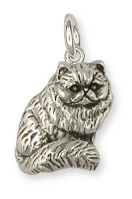 Persian Cat Jewelry Silver Persian Cat Charms - PS13c