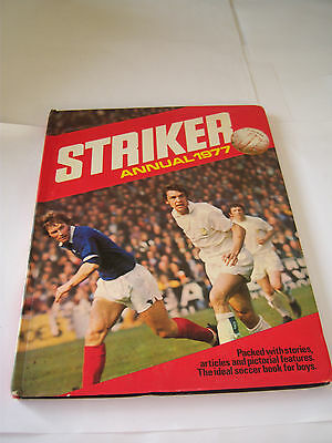 Striker Annual 1977 - Leeds United - Football / Soccer Book