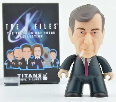 X-Files Titans Truth is Out There Collection Vinyl Mini-Figure - Smoking Man